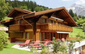 Houses from developers for sale in Alps. A beautiful chalet in the heart of Grindelwalden