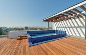 Coastal new homes for sale in Cyprus. Luxury penthouse with pool on the roof, in the Potamos Germasogeia, Cyprus