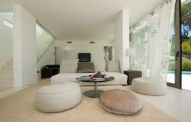 Luxury 2 bedroom houses for sale in Europe. Designer villa with panoramic views, a terrace and a pool, Ibiza, Spain