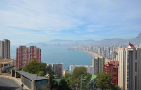 4 bedroom houses for sale in Benidorm. Unfinished villa with panoramic sea and mountain views in Benidorm, Alicante, Spain