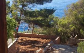 Development land for sale in Split-Dalmatia County. Land plot with a sea view and communications, Hvar, Croatia