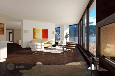 Luxury new homes for sale in Alps. Fashionable apartments in a new residential complex in the prestigious area of St. Moritz, Switzerland