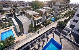 3 bedroom apartments for sale in Limassol. Villa with a rooftop terrace in a development under construction with a pool and an underground parking in the city center, Limassol, Cyprus