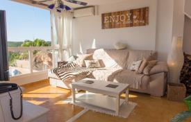 3 bedroom apartments for sale in Balearic Islands. Three-bedroom apartment with a terrace, a parking and sea and mountain views, Santa Ponsa, Spain