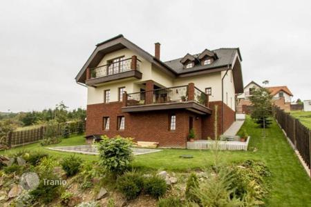 Property for sale in Davle. Home in the Czech Republic with a beautiful view of the river Sava in the area