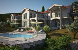 Comfortable villa with a plot, a swimming pool, a parking, terraces and a sea view, Herceg Novi, Montenegro for 300,000 €