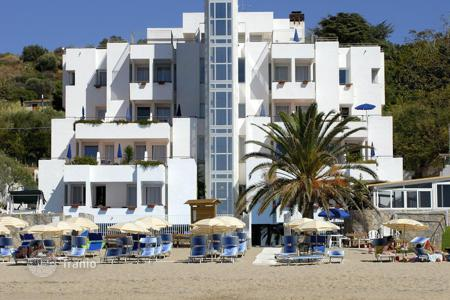 "Hotels for sale in Italy. COSTA CILENTANA directly on the beach offer for sale touristic complex ""4 Stars"", very recently reno[…]"