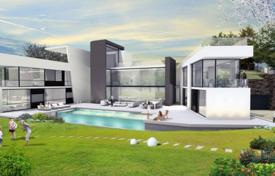 Residential for sale in Madrid (city). New two-storey villa with a garden and a pool, Aravaca, Madrid, Spain