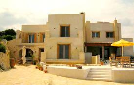 Double villa in a traditional style right on the beach, Chania, Crete, Greece for 1,790,000 €