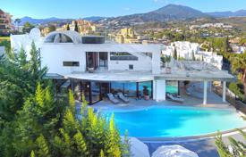 Designed furnished villa with a pool in Nueva Andalucia, Marbella, Spain for 4,400,000 €