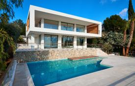 Private modern villa with a panoramic sea view, a pool, a garden and a garage, Bendinat, Spain for 8,500,000 €