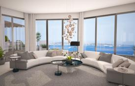 New homes for sale in Côte d'Azur (French Riviera). Four-room apartment with a sea view in a new residential complex, Vallauris, France
