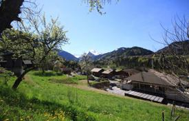 Development land for sale in France. Plot with a planning permission, Montriond, France