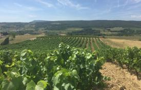 Development land for sale in France. Plot with vineyards, near Toulouse and La Cite in Carcassonne, Aude, France