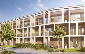 New homes for sale in Bavaria. New one-bedroom apartment in a living complex with private parking and garden in the suburbs of Munich — Vaterstetten