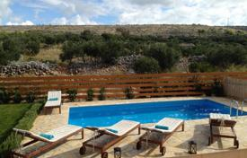 Property for sale in Milna. The villa with swimming pool 350 meters from the sea in Milna on the island of Brac, Croatia