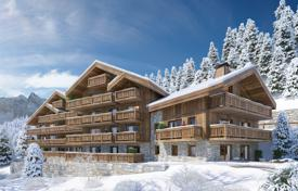 1 bedroom apartments for sale in Les Allues. Apartment with terraces, in a new residence with a parking, Méribel, Savoie, France