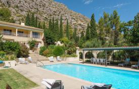 Residential to rent in Pollença. Villa with private heated swimming pool at the foot of the Serra de Tramuntana, Mallorca, Balearic Islands, Spain