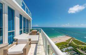 Designer three-bedroom apartment with a beautiful view of the ocean in Miami Beach, Florida, USA for $12,750,000