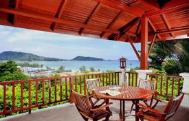Houses for sale in Southeastern Asia. Two-storey villa with pool and stunning sea views in the area of Patong, Phuket