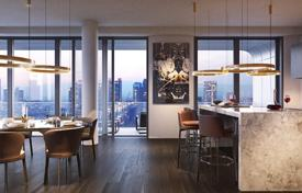 Residential for sale in Hessen. Apartment in a new skyscraper in Frankfurt, European Quarter, Gallus district