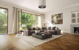 Luxury new homes for sale in Munich. Apartment with a terrace, in a new built-in with a parking and a garden, in Bogenhausen district, Munich, Germany