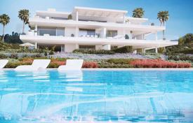 Elite flat with a terrace and sea views in a residence with a pool, on the first line from the beach, Estepona, Costa del Sol, Spain for 3,195,000 €