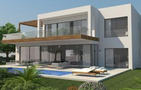 Property for sale in Andalusia. New villa with large terraces, a pool and a garden, near the beach, Marbella, Costa del Sol, Spain