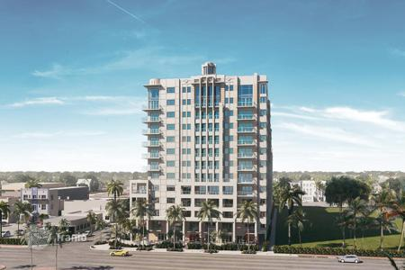 1 bedroom apartments for sale in North America. Apartment in a residence in Boca Raton, Palm Beach