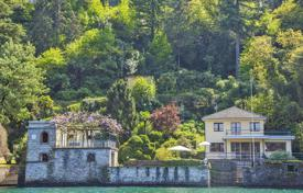 Villa on the lake with two boathouses, a harbour, a private shore and a large park, Torno, Italy for 5,800,000 €