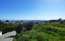 Development land for sale in Mijas. Plot with a sea view, in a prestigious area, Mijas, Spain