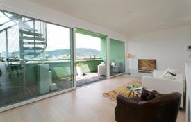 Residential from developers for sale in Graz. Beautiful duplex at the bank of the river Mur, with panoramic views