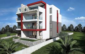 Coastal property for sale in Sibenik-Knin. New apartment with a parking, a terrace and a sea view, Primosten, Croatia