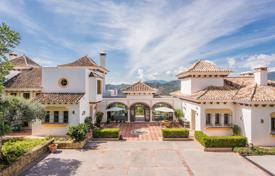 Luxury houses for sale in Costa del Sol. Fabulous Mediterranean Mansion in La Zagaleta, Benahavis