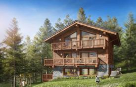 Chalets for sale in France. Mountain view chalet with terraces and a garage, in the ski resort of Meribel, Savoie, France