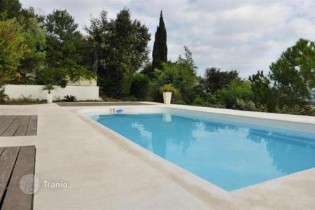 Coastal property for sale in Antibes. ANTIBES, ROI SOLEIL, FANSTATIC HOUSE WITH SEA VIEW AND SWIMMING POOL
