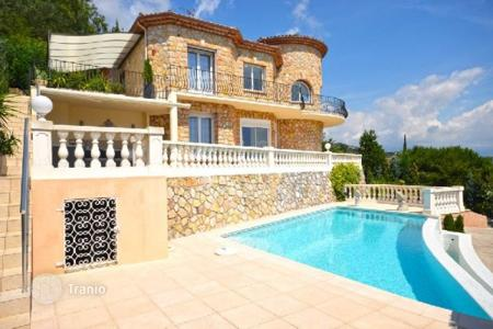 4 bedroom houses for sale in Mandelieu-la-Napoule. Villa – Mandelieu-la-Napoule, Côte d'Azur (French Riviera), France