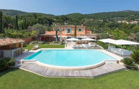 Luxury 6 bedroom houses for sale in Grasse. Cannes back country - Panoramic view