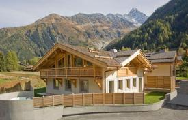 Residential to rent in Chamonix. New chalet in the ski resort Argentiere, Chamonix, France