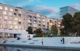 New homes for sale in Berlin. New three-bedroom apartment on the river bank in the Mitte district, Berlin, Germany