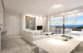 Property for sale in Andalusia. Comfortable apartment with a terrace and a sea view in a new residence with a swimming pool and a parking, Marbella, Costa del Sol, Spain