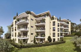 Cheap new homes for sale in Beausoleil. Cozy apartment in a new residence with a garden and Montecarlo view in Beausoleil, Côte d'Azur, France