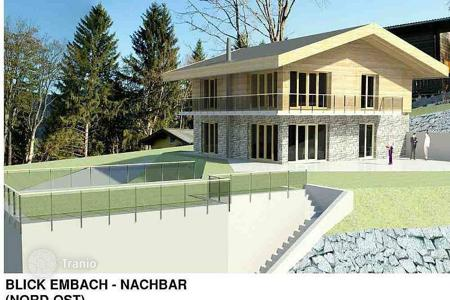 Development land for sale in Embach. Plot with project house in Embach, Austria