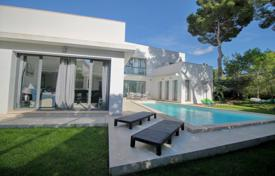 5 bedroom houses for sale in Balearic Islands. Spacious villa with a private garden, a pool and a parking, Santa Ponsa, Spain