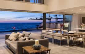 Luxury 4 bedroom houses for sale in Paphos. Modern villa with a terrace, a pool and sea views, near the beach, Chloraka, Paphos, Cyprus
