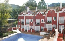 Townhouses for sale in Benahavis. New townhouse overlooking the mountains in the center of Benahavis, Andalusia, Spain