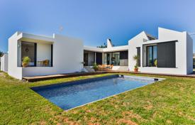 3 bedroom houses for sale in Ibiza. Modern villa with a swimming pool, a garden and a parking, in a prestigious area, Ibiza, Balearic Islands, Spain