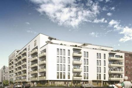 Apartments for sale in Nuremberg. Apartment in a new complex with facilities and services for a comfortable stay elderly and disabled people in the center of Nuremberg