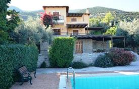 Property for sale in Epidavros. Sea view villa with garden, swimming pool, church, in Peloponnese, Greece
