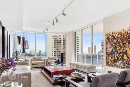 4 bedroom apartments for sale in North America. Five-room premium apartment with views of the ocean in a condominium with pier, restaurant and spa, Williams Island, Aventura, Miami
